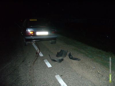 Тамбовчанин без водительских прав переехал лежавшего на дороге мужчину