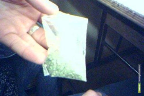 Полицейские задержали на улице тамбовчанина с наркотиками