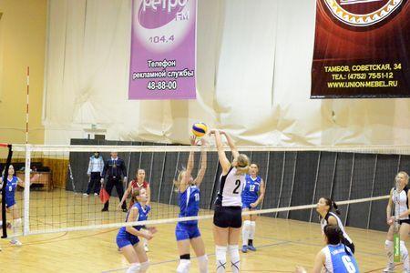 В Тамбове определятся сильнейшие волейболистки региона