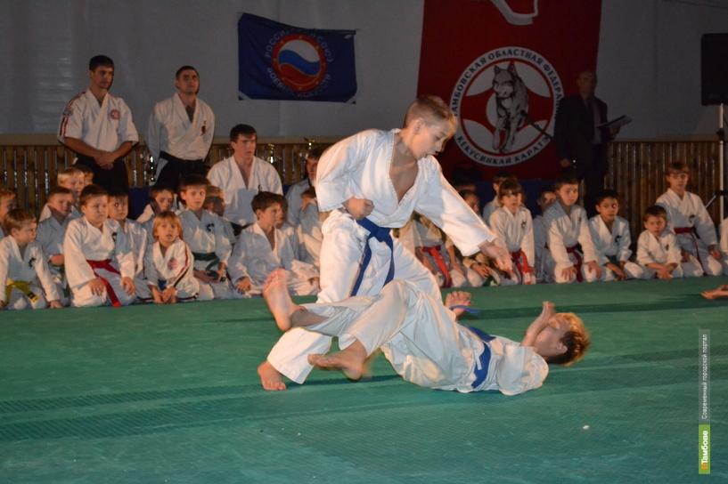 В Тамбове прошёл открытый новогодний турнир по киокусинкай каратэ