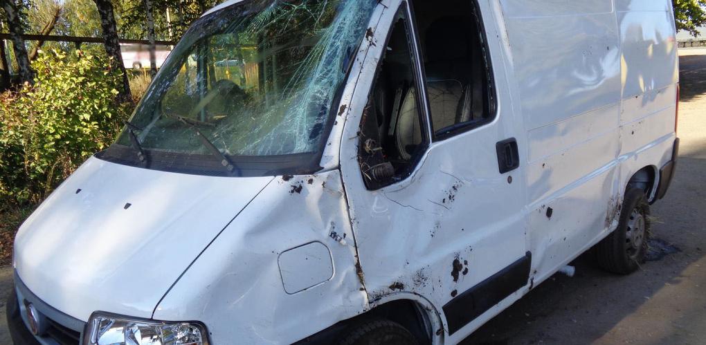 На трассе в Мичуринском районе перевернулась иномарка