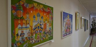 В Тамбовском филиале РАНХиГС открылась персональная выставка художницы Ирины Пугачевой-Мироновой
