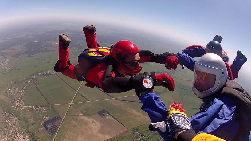 Тамбовские парашютисты приготовили сюрприз ко Дню ВДВ