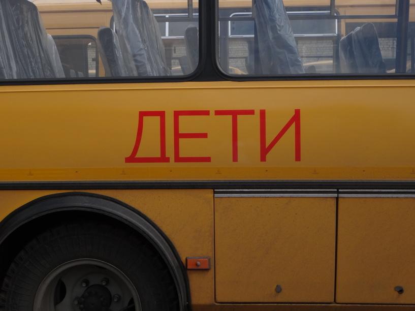 В Тамбовской области школьный автобус въехал в иномарку