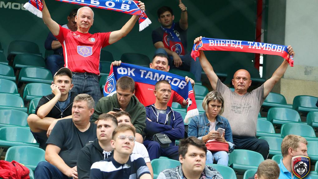 Билеты на матч «Тамбов»-«Спартак» расходятся как горячие пирожки