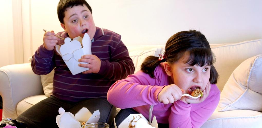 20 процентов детей в России страдают от ожирения