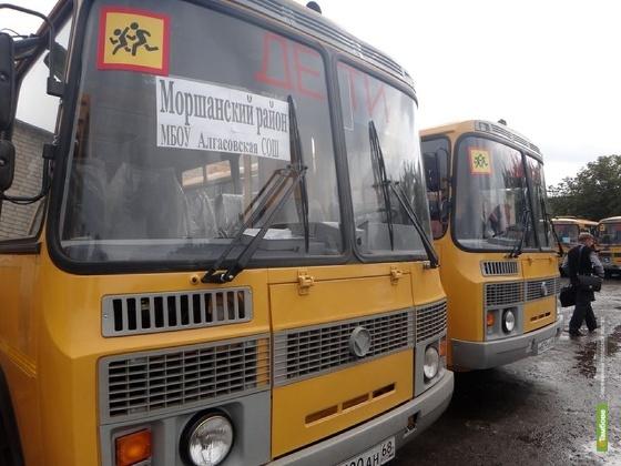 Тамбовским сельским школам передадут автобусы