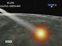 Первый советский метеоспутник падает на Землю