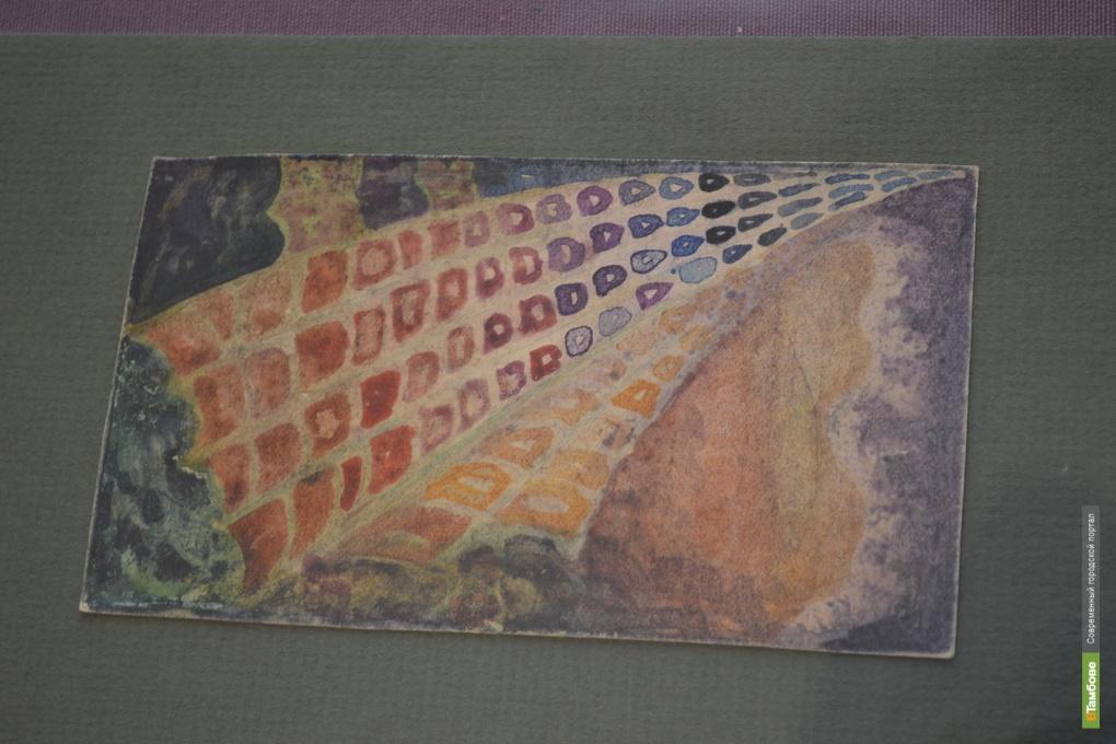 Тамбовчанам явили работу художника Окорокова «Скрытый лик»