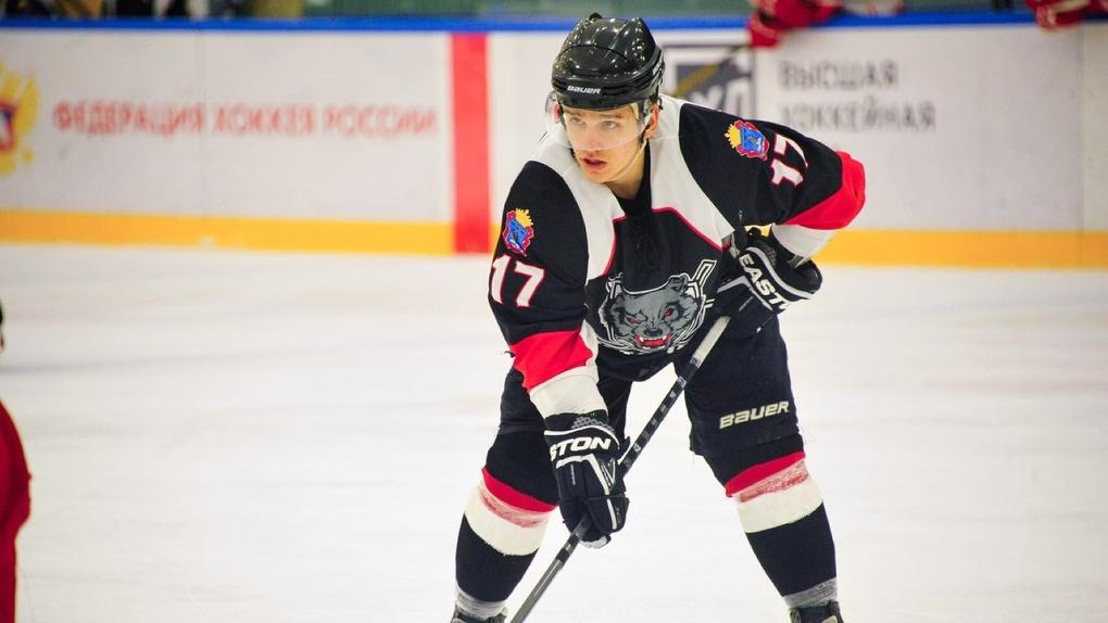 Дмитрий Баранов покинул ряды тамбовских хоккеистов