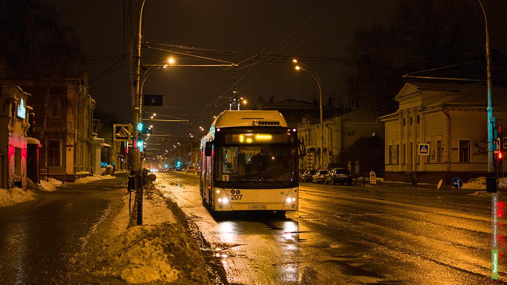 После салютов тамбовчан домой развезут около 40 автобусов и троллейбусов