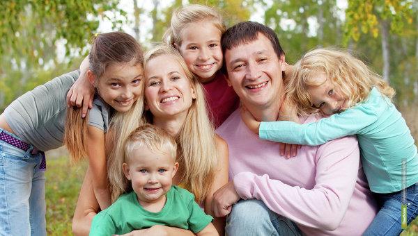 В Тамбовской области проживают 125 тысяч семей