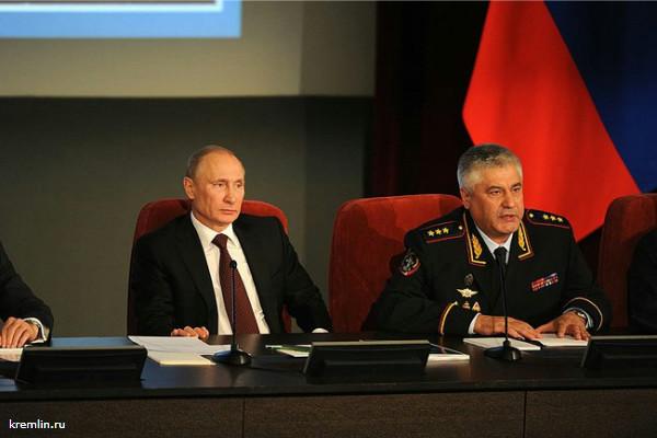 В Кремле опровергли слухи об отставке главы МВД Владимира Колокольцева