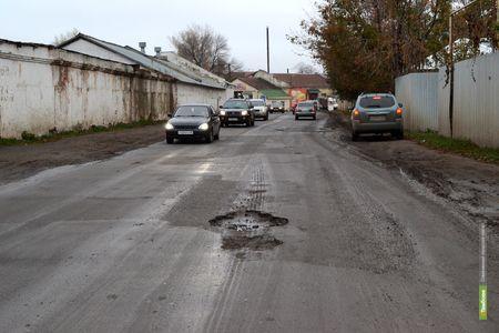 Дорожный фонд Тамбовщины ищет новые источники финансирования
