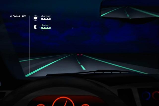 В Нидерландах появилась светящаяся в темноте дорога