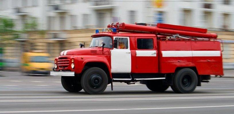 В Рассказово сгорела Toyota Camry