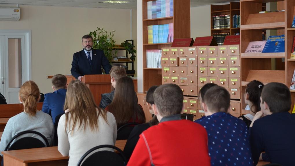 В Тамбовском филиале РАНХиГС прошла встреча с депутатом облдумы