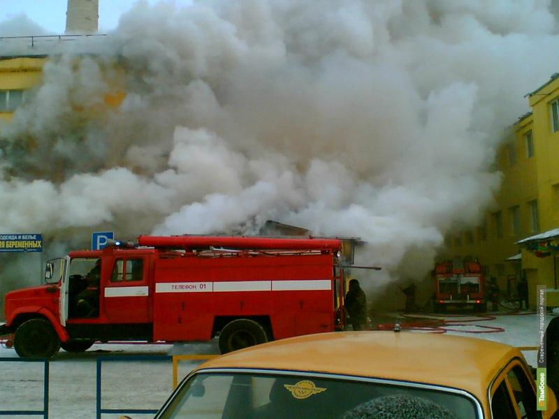 На Тамбовщине за сутки произошло два пожара