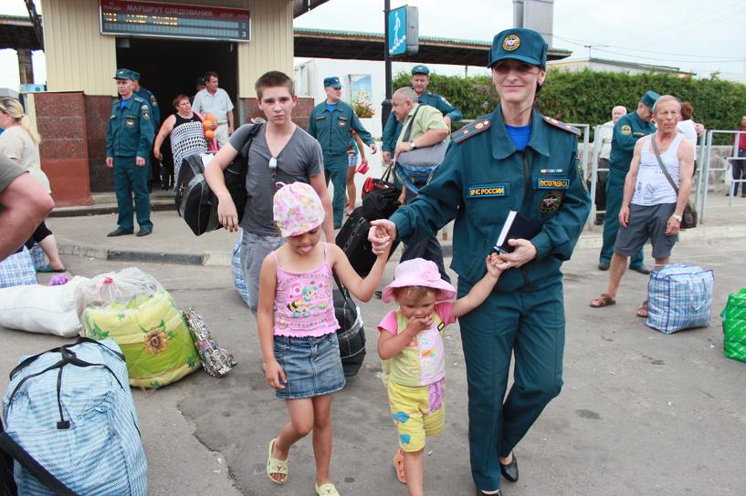 На Тамбовщину перебрались ещё 150 беженцев с Украины