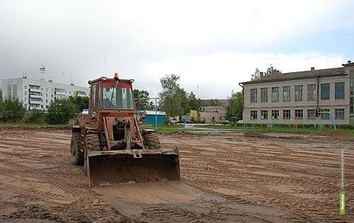 На Тамбовщине завершается строительство нового стадиона