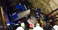 Версия: поезд в московском метро сошел с рельсов из-за неизвестного предмета на путях