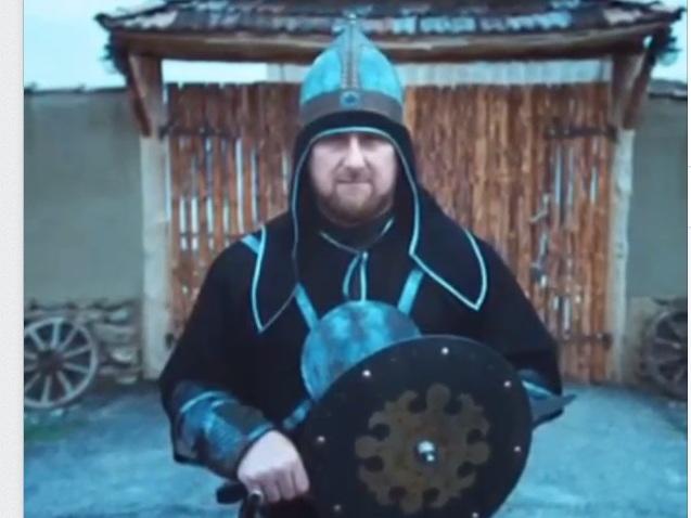 Рамзан Кадыров отправился в прошлое в фильме «Волшебный гребень»
