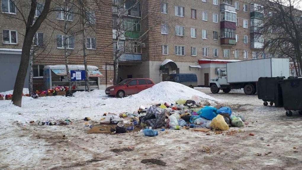 ТЭКО-Сервис вывезет мусор с брошенных контейнерных площадок