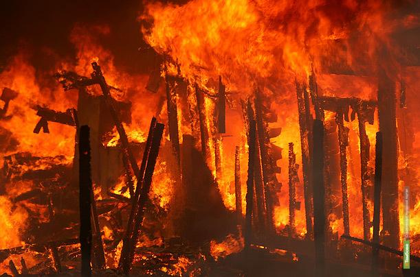 В Тамбове сгорели 23 миллиона рублей