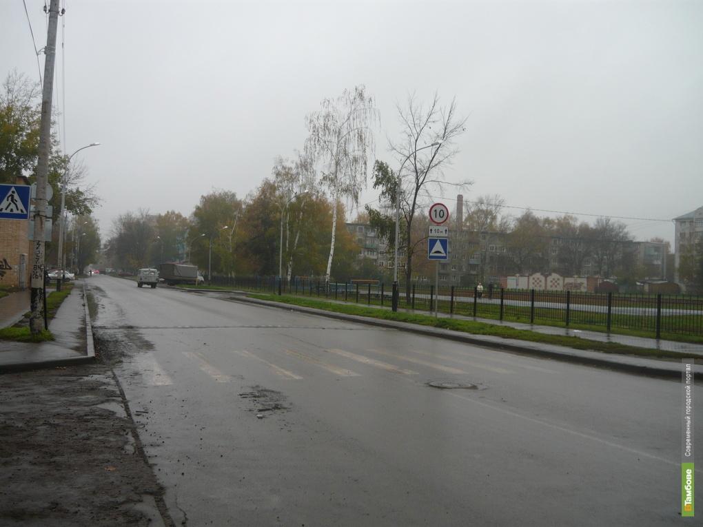Полмиллиарда рублей потратят на строительство дороги в Тамбове