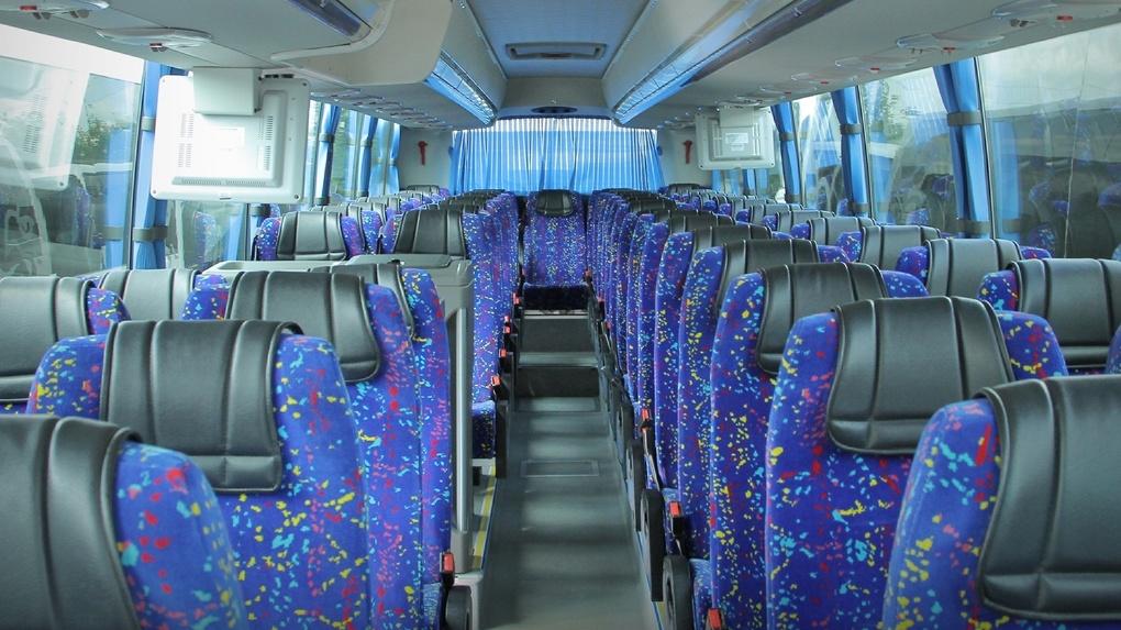 Автоинспекторы проверили автобусы в Тамбове. Один даже пришлось снять с рейса