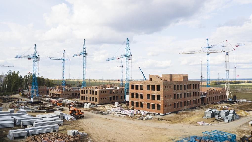 Строительство школы «Сколково-2» в Тамбове идет с опережением графика