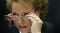 С перевесом в 97% голосов Матвиенко попадает в сенат