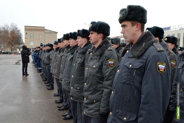 В Рождество спокойствие тамбовчан будут охранять усиленные наряды полиции