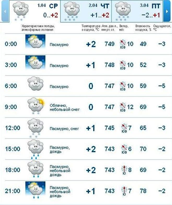 Погода в инте на неделю