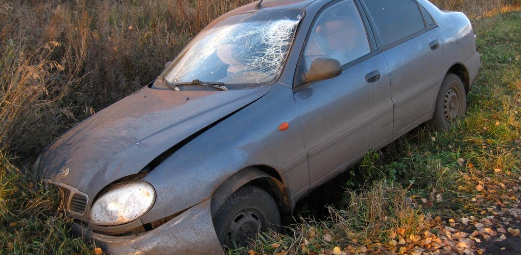 Легковушка съехала в кювет в Умётском районе
