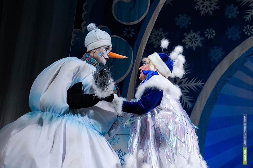 В Тамбове проходит серия детских новогодних представлений от мордовского театра