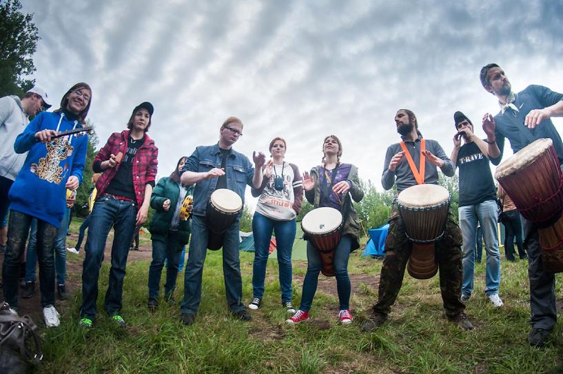 Тамбовский видеограф снял фильм про «Лесную акустику»