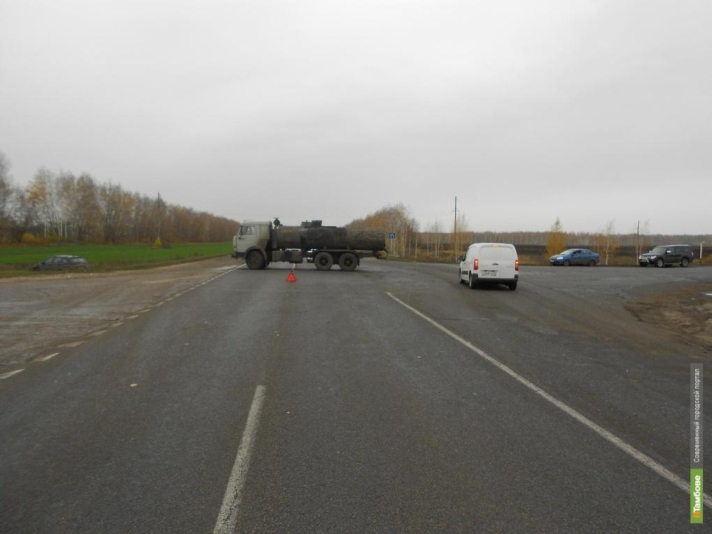 Обод от колеса «Камаза» поранил пешехода