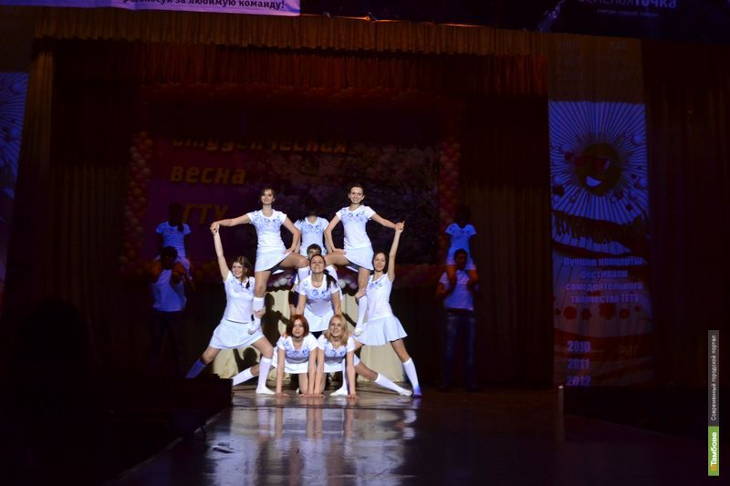 Тамбовские студентки поедут на универсиаду 2013