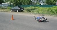 В Мичуринском районе «семёрка» сбила парня на мопеде