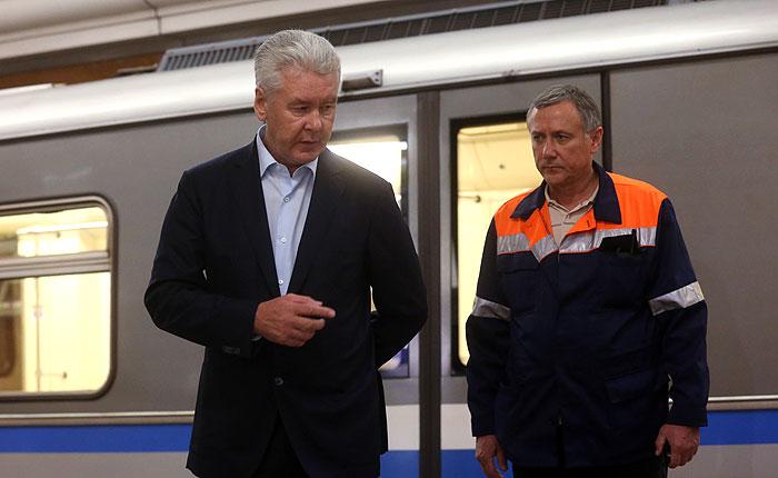 Собянин уволил начальника московского метро после ЧП на синей ветке