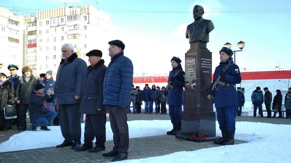День защитника Отечества в Тамбове: два новых памятника прославленным воинам