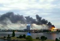 В Латвии пожар уничтожил более 3 тысяч «квадратов» резиденции президента