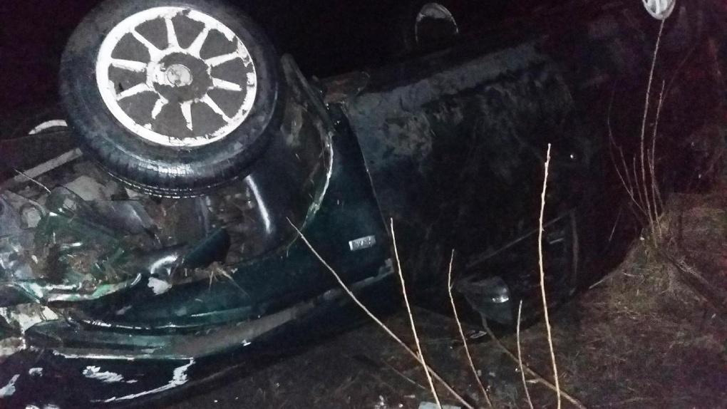 Под Рассказово машина вылетела в кювет: водитель не пострадал