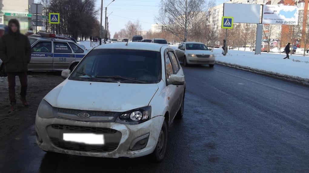 На Рылеева сбили мальчика, перебегавшего дорогу по пешеходному переходу
