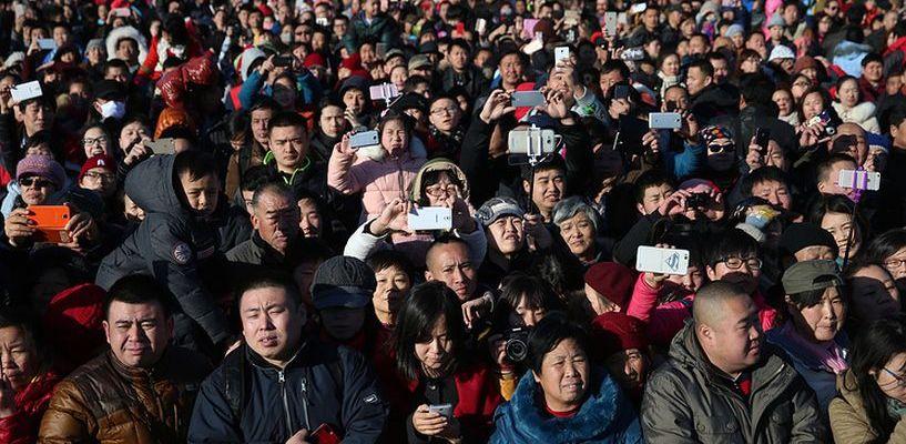 Количество китайцев увеличилось еще на 8 миллионов человек