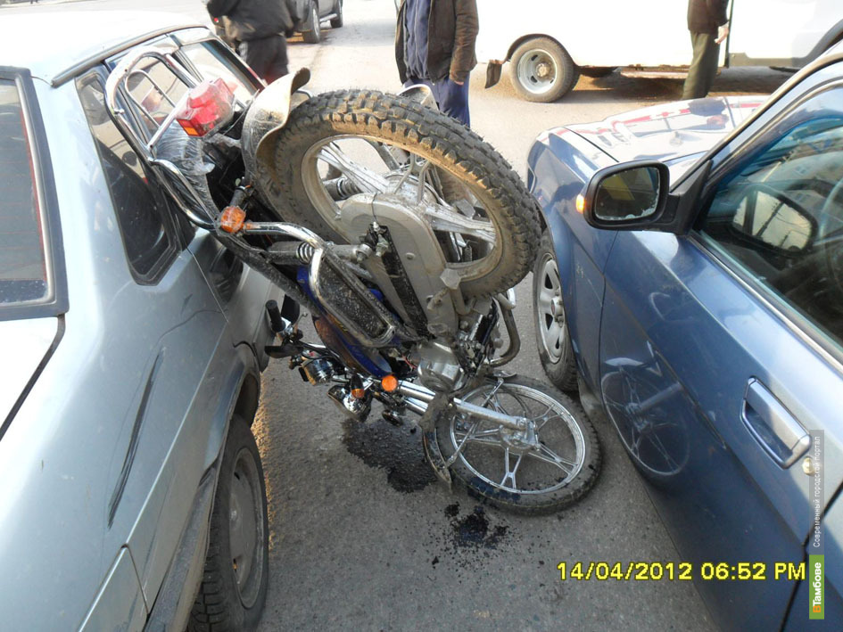 Мотоциклисты Тамбова открыли «аварийный сезон»