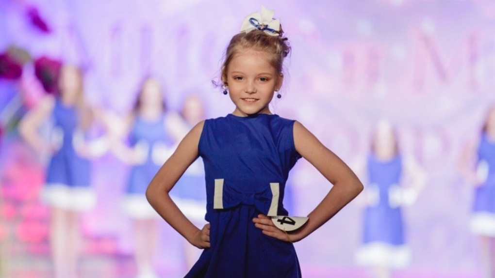 Девочка из России претендует на титул мировой принцессы красоты