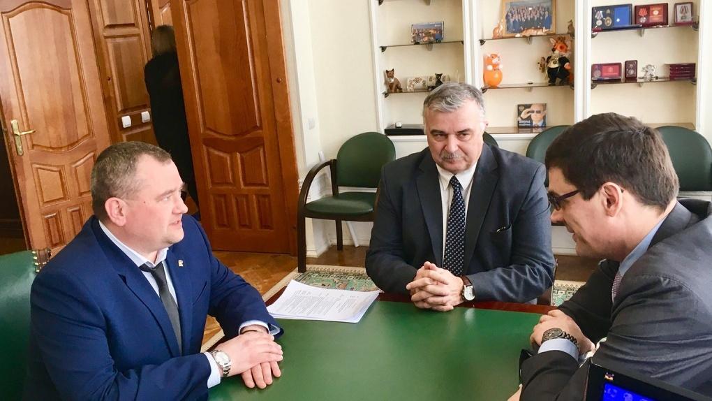 С деловым визитом: Тамбов посетил четырёхкратный Олимпийский чемпион