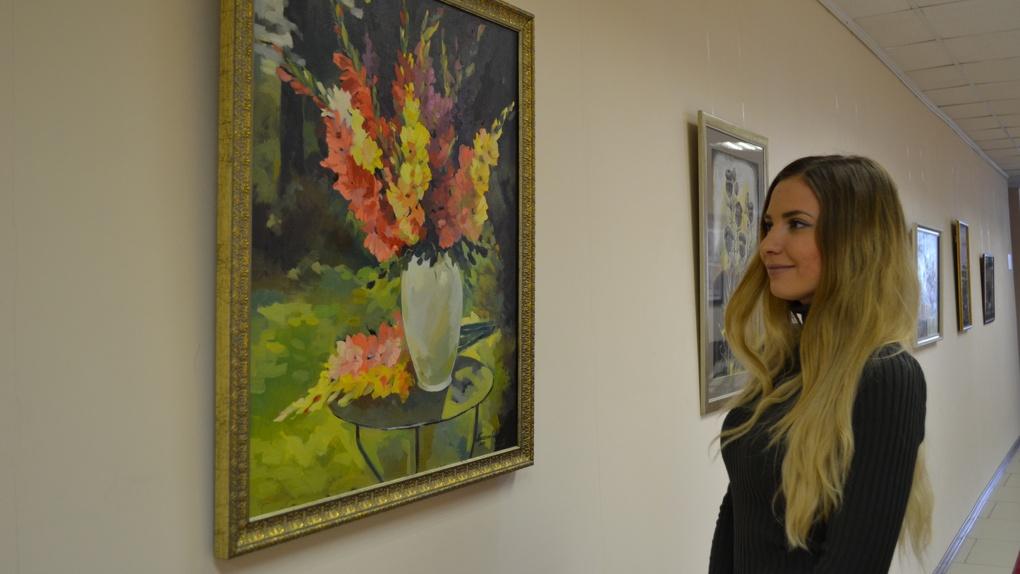 В Тамбовском филиале РАНХиГС открылась выставка работ художницы Тамары Пискуновой